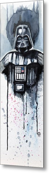 Darth Vader Metal Print by David Kraig