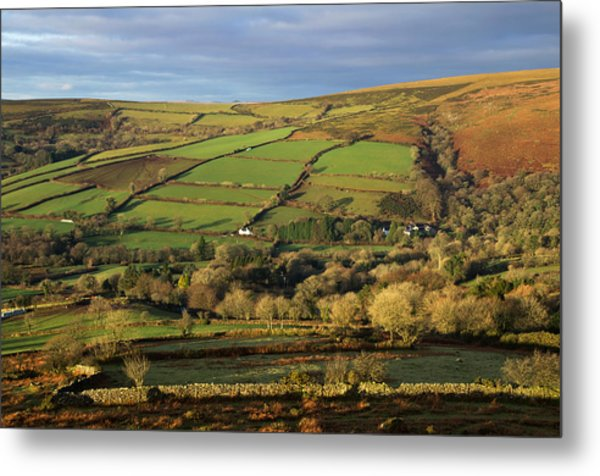 Dartmoor From Bonehill Metal Print