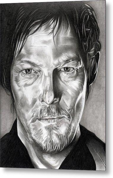 Daryl Dixon - The Walking Dead Metal Print
