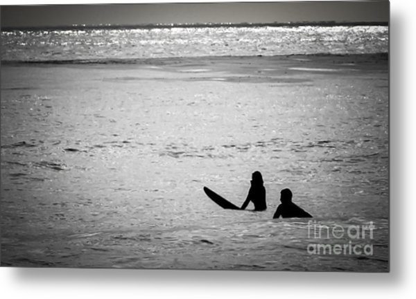 Date Night Metal Print by Amy Fearn