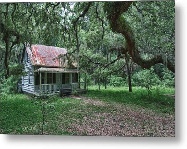 Daufuskie Homestead Metal Print