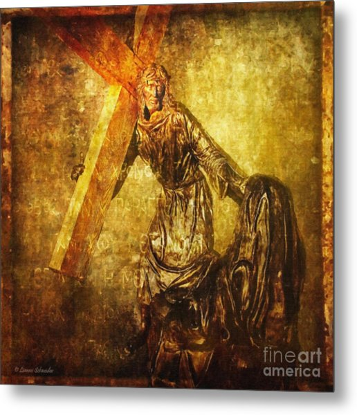 Daughters Of Jerusalem Via Dolorosa 8 Metal Print