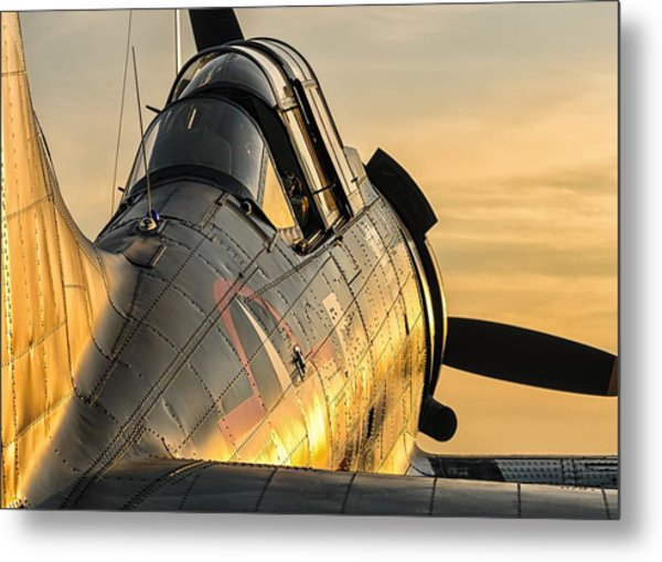 Dauntless At Dusk Metal Print