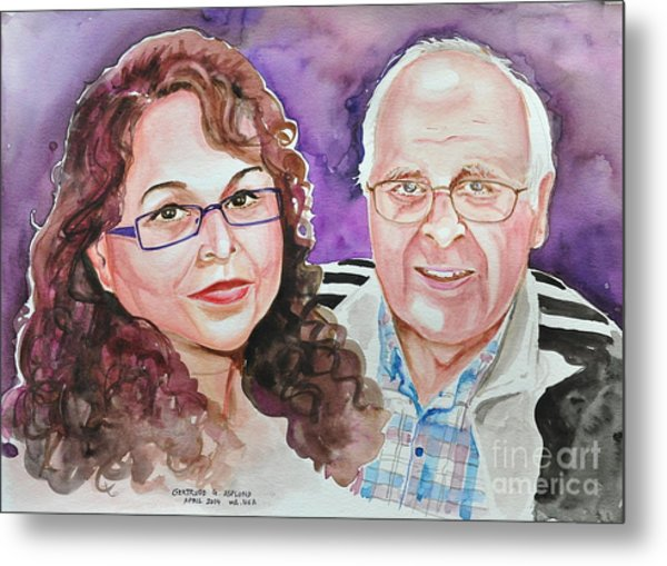 Dave And Cecile Metal Print