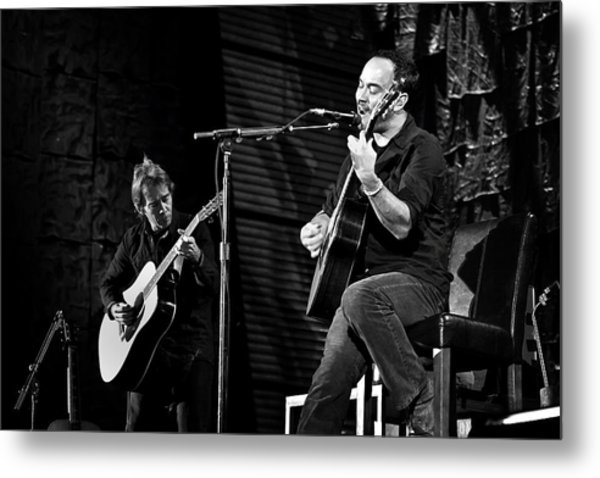 Dave Matthews And Tim Reynolds Metal Print