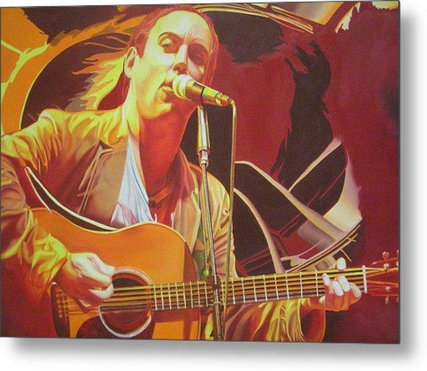 Dave Matthews At Vegoose Metal Print