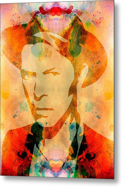 David Bowie 2 Metal Print