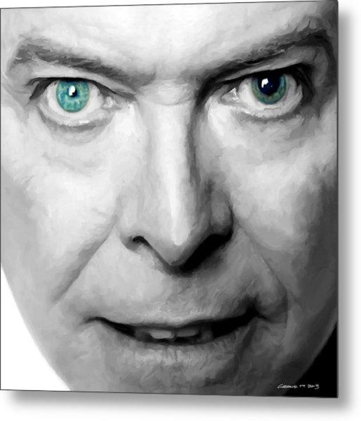 David Bowie In Clip Valentine's Day - 3 Metal Print