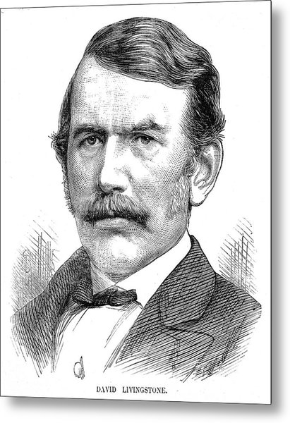 David Livingstone Metal Print