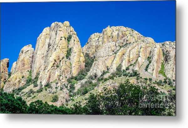 Davis Mountains Of S W Texas Metal Print