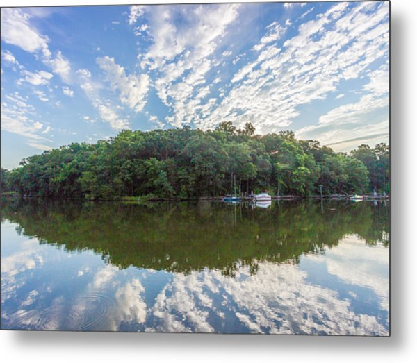 Dawn On The Magothy River Metal Print