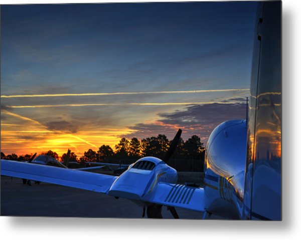 Dawn On The Ramp 02 Metal Print
