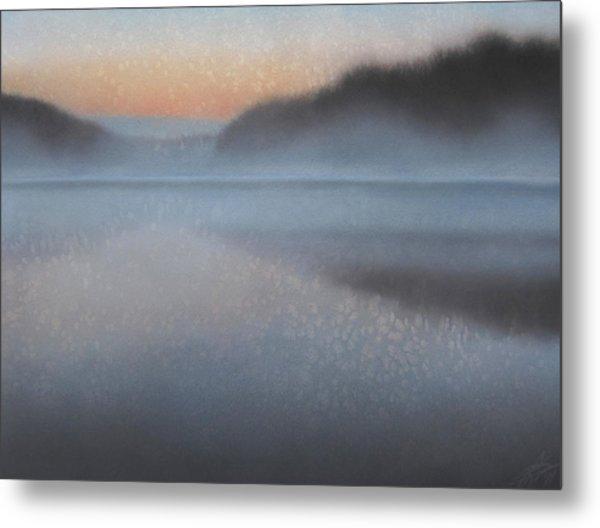 Dawn Parts The Mist Metal Print