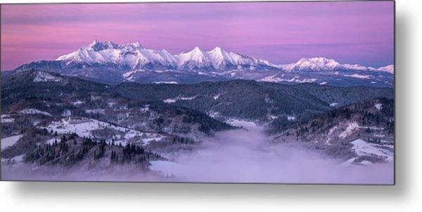 Dawn - Tatra Mountains Metal Print