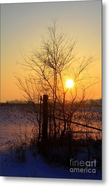 Dawns Early Light Metal Print