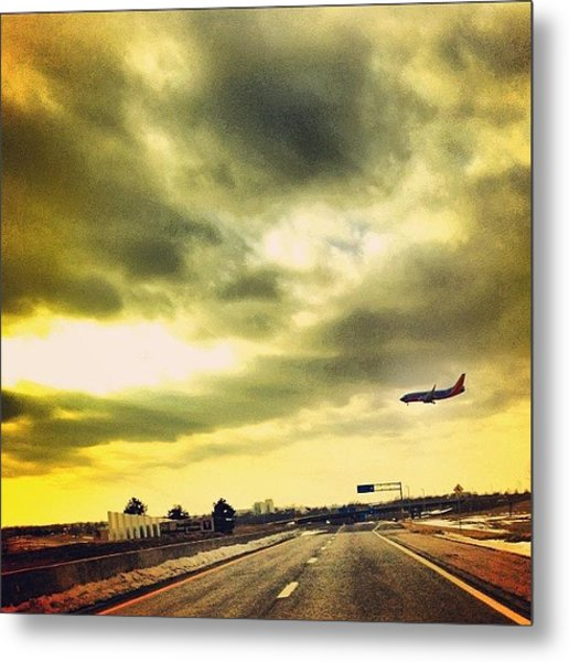 Day 5 - Movement - Southwest Flight Metal Print