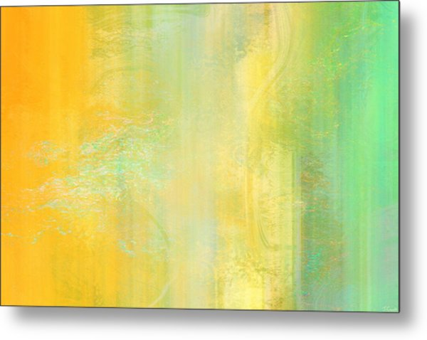 Day Bliss - Abstract Art Metal Print