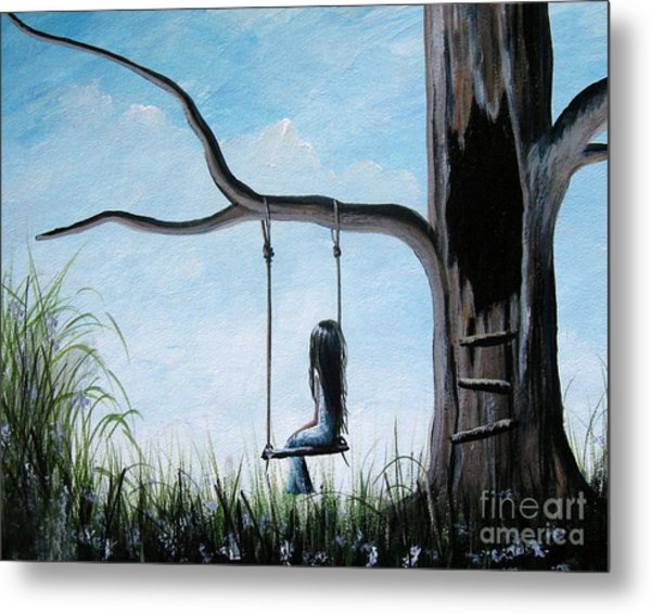 Day Dreaming By Shawna Erback Metal Print by Artisan Parlour