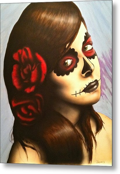 Day Of The Dead Metal Print by Jeremy Evans