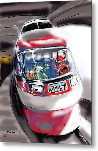 Day Trippers Metal Print