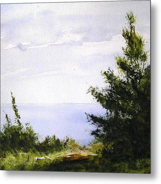 Daybreak Above Lake Superior Metal Print