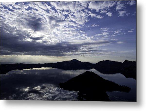 Daybreak At Crater Lake Metal Print