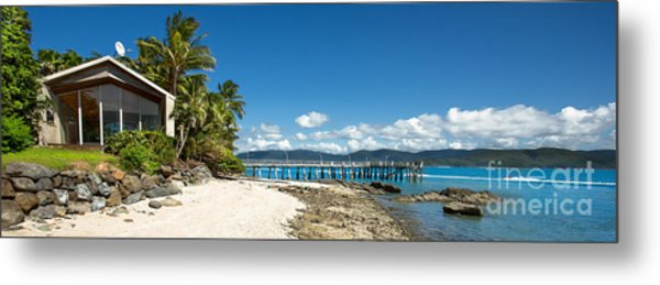 Daydream Island Pano Metal Print by Shannon Rogers
