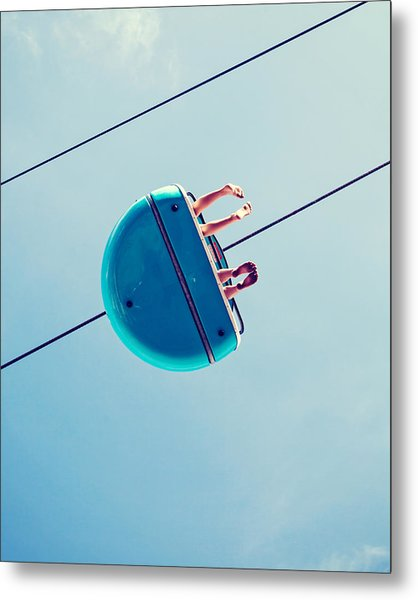 Days Like This - Santa Cruz Metal Print