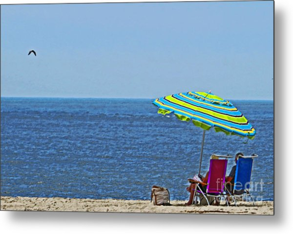 Daytime Relaxation Metal Print