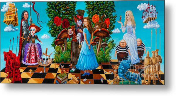 Daze Of Alice Metal Print
