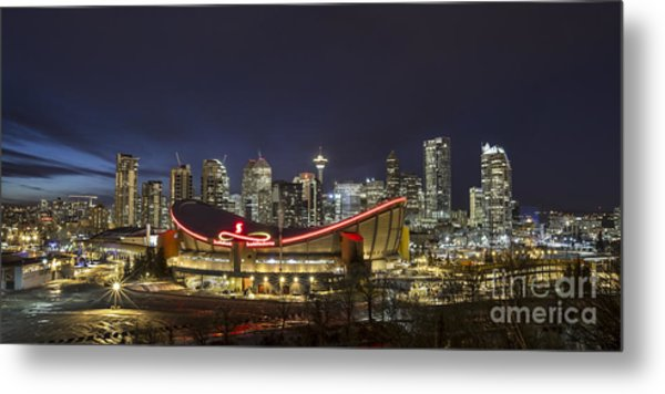 Dazzled By The Light Metal Print