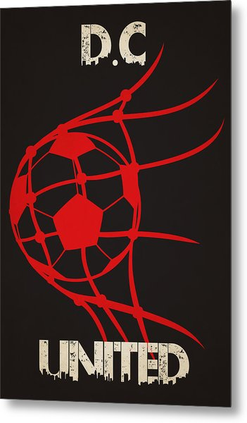 Dc United Goal Metal Print