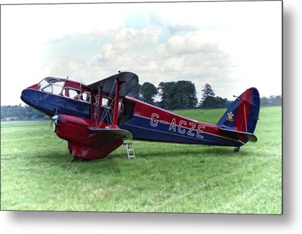 De Havilland Dragon Rapide Metal Print