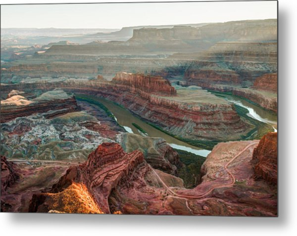 Dead Horse Point At Sunset Metal Print