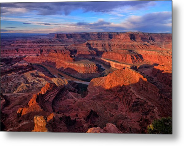 Dead Horse Point Sunrise Metal Print