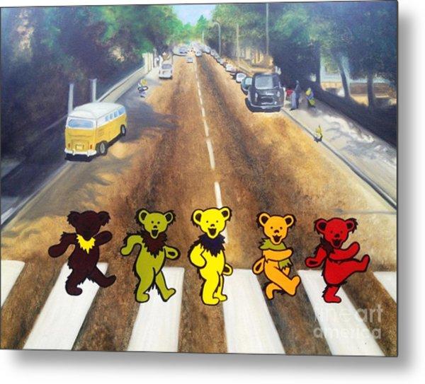 Dead On Abbey Road Metal Print