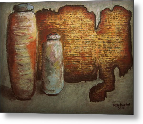 Dead Sea Scrolls Metal Print