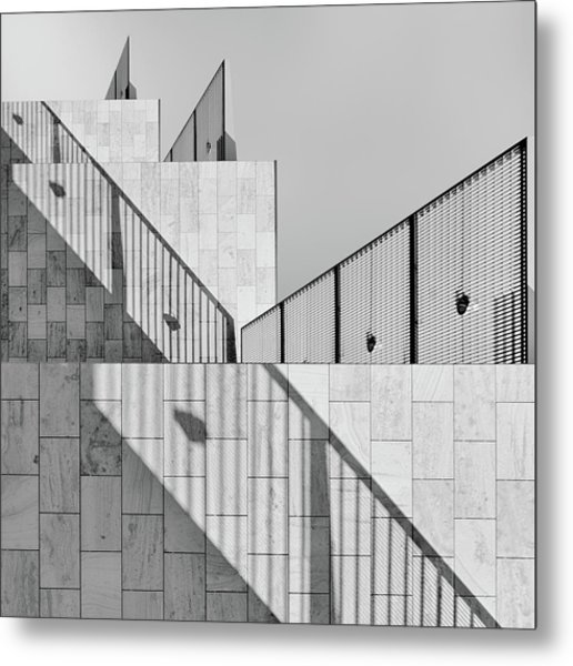 Dealing With Shadows Metal Print