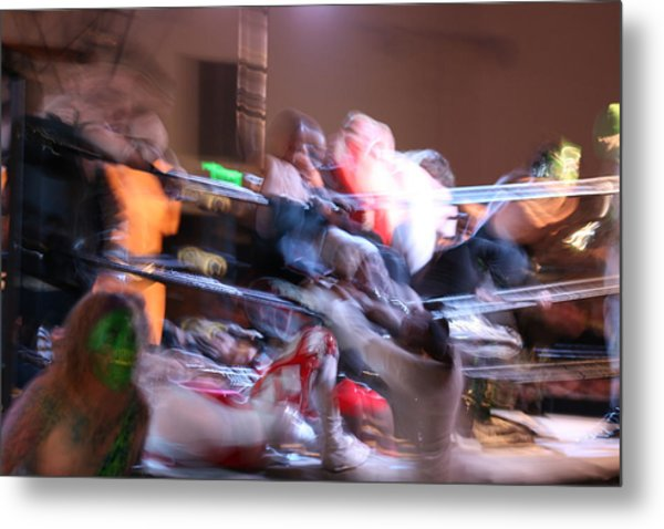 Metal Print featuring the photograph Rumble by Cynthia Marcopulos