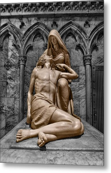 Death Of The Son Of God Metal Print by Lee Dos Santos