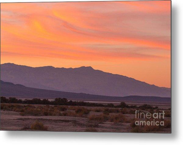 Death Valley Sunset Metal Print