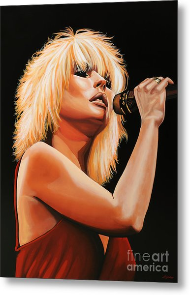 Deborah Harry Or Blondie 2 Metal Print