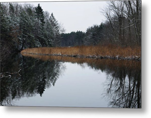 December Landscape Metal Print