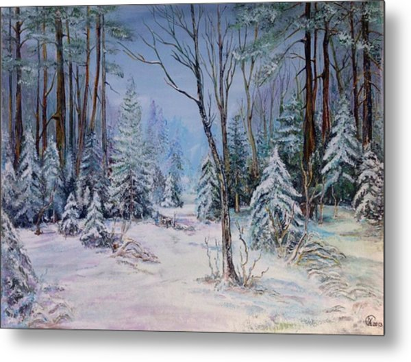 December Light Metal Print