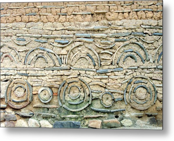 decorative architecture photographs - Korean Wall Metal Print