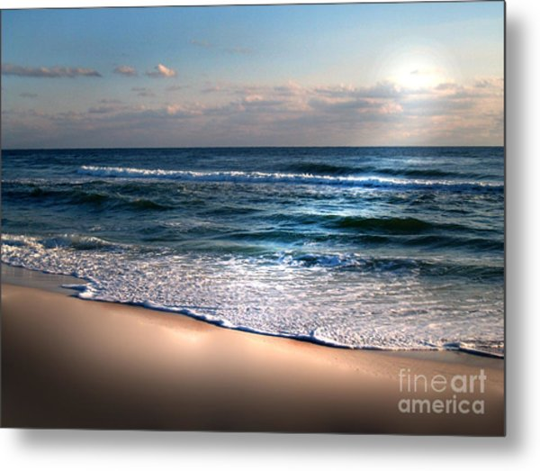 Deep Blue Sea Metal Print by Jeffery Fagan