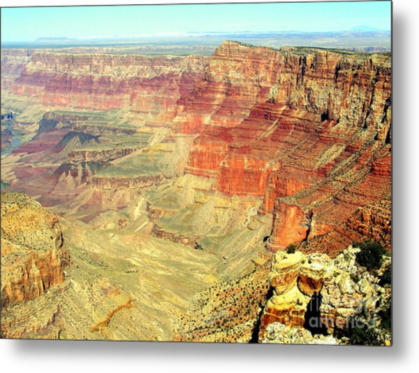 Deep Grand Canyon Metal Print by John Potts