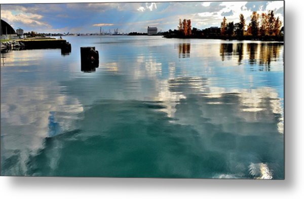 Deep Reflections 1 - Canada Metal Print