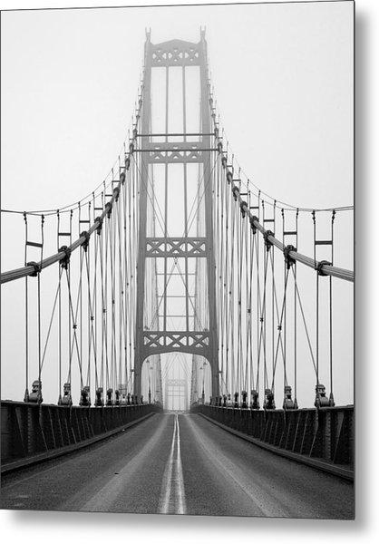 Deer Isle Bridge Metal Print