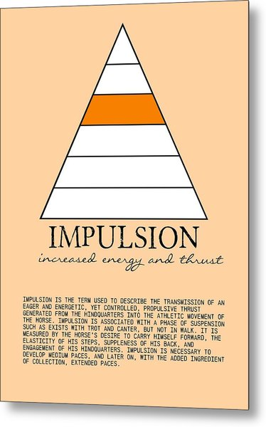 Impulsion Defined Metal Print by JAMART Photography